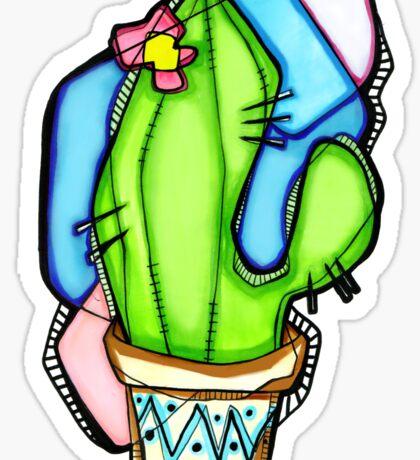 Saguaro Print Sticker