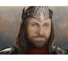 Aragorn's Coronation Photographic Print