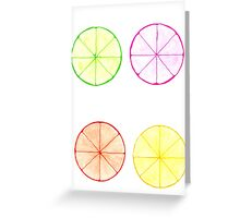 Citrus Combo  Greeting Card