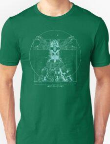 Voltruvian Man (Blue) T-Shirt