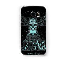 Voltruvian Man (Blue) Samsung Galaxy Case/Skin