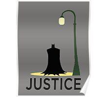 Batman is Justice Poster