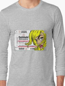QUAALUDE Long Sleeve T-Shirt