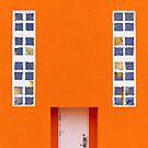 Orange Wall by Svetlana Sewell
