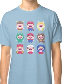 Plumber Wardrobe (w/o outlines) Classic T-Shirt