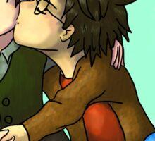 Harry kisses Tom Sticker