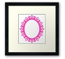 Beautiful Picture Frame - Luxury Pink Framed Print
