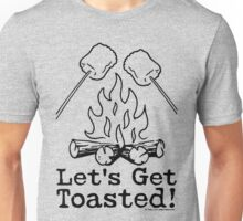 Lets Get Toasted - Marshmallows Unisex T-Shirt