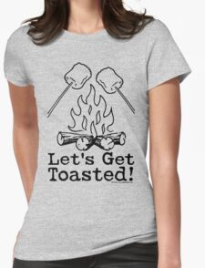 Lets Get Toasted - Marshmallows Womens Fitted T-Shirt