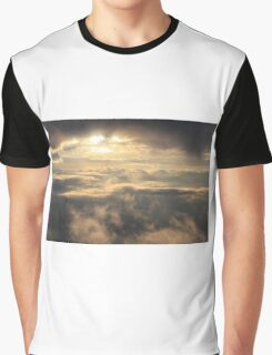 Clouds on Domestic Flight in Argentina Graphic T-Shirt