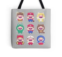 Plumber Wardrobe (w/o outlines) Tote Bag