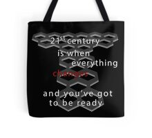 Torchwood 21st century (dark) Tote Bag