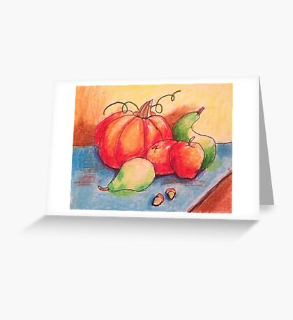 Fall Still Life Greeting Card