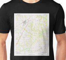USGS TOPO Map Alabama AL Headland 304128 1969 24000 Unisex T-Shirt