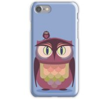THE SAT UPON OWL iPhone Case/Skin