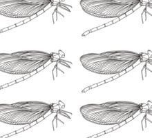 Dragonflies invasion Sticker