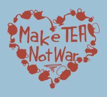 Make Tea, Not War Baby Tee