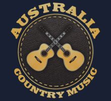 Australia Country Music Kids Tee