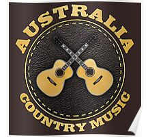 Australia Country Music Poster