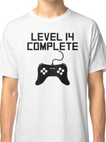 Level 14 Complete 14th Birthday Classic T-Shirt