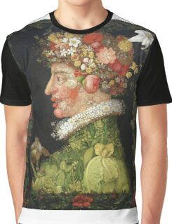 Vintage famous art - Giuseppe Arcimboldi - Spring, From A Series Depicting The Four Seasons  Graphic T-Shirt