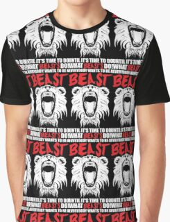 Everybody Wants To Be A Beast (Roaring Lion) Graphic T-Shirt