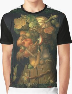 Vintage famous art - Giuseppe Arcimboldi - Autumn, From A Series Depicting The Four Seasons  Graphic T-Shirt