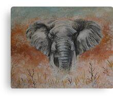 Elephant - Spirit Animal Art Canvas Print