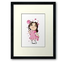 Chibi Kitty Framed Print