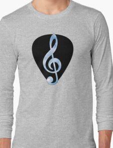 Guitar Pick Music Note Long Sleeve T-Shirt