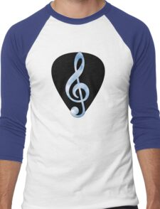 Guitar Pick Music Note Men's Baseball ¾ T-Shirt
