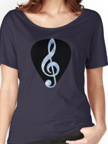 Guitar Pick Music Note Women's Relaxed Fit T-Shirt