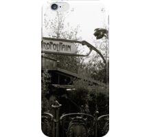 Le Metro iPhone Case/Skin