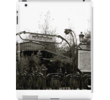 Le Metro iPad Case/Skin