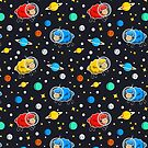 Space Sheep Pattern by sirwatson