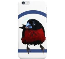Bird on a perch iPhone Case/Skin