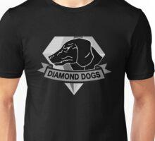 °METAL GEAR SOLID° Diamond Dogs B&W Unisex T-Shirt