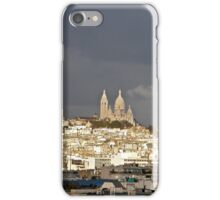 Montmartre and Sacre Coeur in the storm iPhone Case/Skin