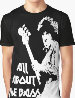 Phil Lynott: All About the Bass Graphic T-Shirt