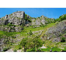 Cheddar Gorge Photographic Print