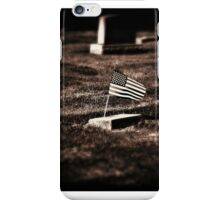 Memorial Day remembrance iPhone Case/Skin