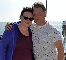 Steve and Sarah at Beer Devon.UK by lynn carter