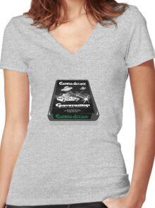 Atari gamma attack  Women's Fitted V-Neck T-Shirt