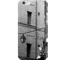 Dappled Street in Uzes, France iPhone Case/Skin