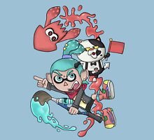 Splatoon - Cyan V.S. Red-Orange Unisex T-Shirt