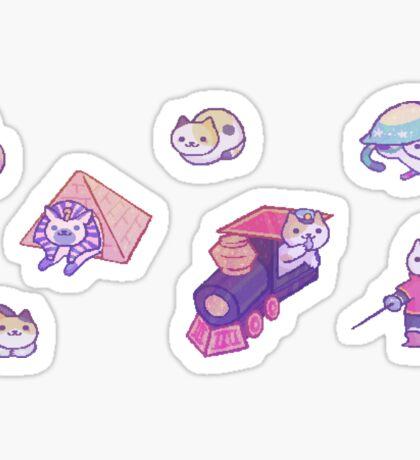 Neko Atsume 7 Sticker