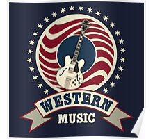 Western Music Poster
