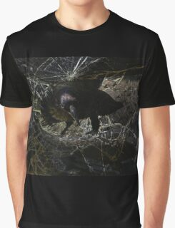 Gothic shatter bird Graphic T-Shirt