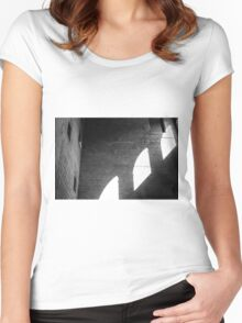 Window Light Women's Fitted Scoop T-Shirt