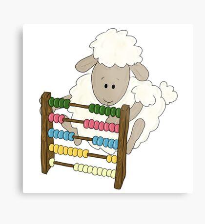 Counting Sheep.  Metal Print